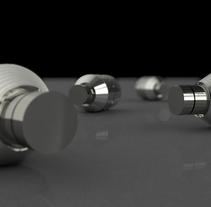 Modelado 3d: Piezas mecánicas. Un proyecto de 3D de Laia Cuberes         - 24.11.2013