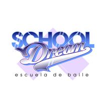 School Dream. Escuela de Danza. Logo. Un proyecto de Diseño y Publicidad de Naone  - 24-11-2013