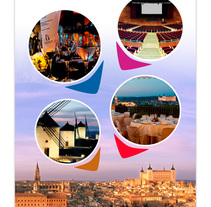 Toledo Convention Bureau. A Design project by Estudio de Diseño y Publicidad  - 07-01-2014