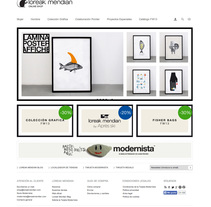 Loreak Mendian Online Shop. A Design, and Software Development project by Ismael Serrano - 31-10-2011