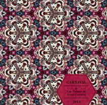 Carnaval de Las Palmas. Un proyecto de Diseño, Ilustración y Publicidad de Andrea Ataz         - 12.01.2014