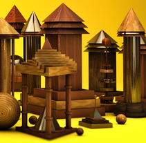 A N Y A. A Design, Illustration, and 3D project by Luis Angel  Uribe - 01.16.2014