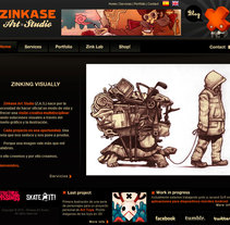 Zinkase Art Studio. A Software Development project by Aitor Mauleón - 20-01-2012
