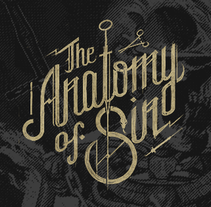 The Anatomy of Sin. A Illustration, Graphic Design, T, and pograph project by mimetica - 24-01-2014