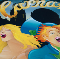 Cartel Carnaval Cádiz 2014. Un proyecto de Publicidad de Jose Luis Díaz Salvago - Domingo, 13 de enero de 2013 00:00:00 +0100
