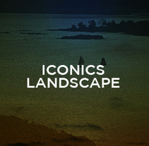 ICONICS LANDSCAPE. A Illustration, Art Direction, and Graphic Design project by Antón Veríssimo - 27-01-2014
