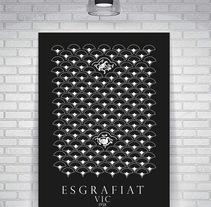 Postales y Posters/ Ayuntamiento de Vic. A Design project by Leopoldo Blanco         - 12.07.2013