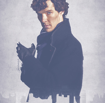 Consulting Detective. A Illustration project by Laura Racero         - 28.01.2014