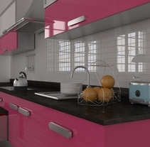Cocina retro. A 3D project by Issa Lima          - 19.04.2013