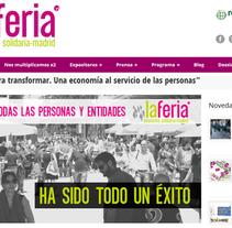 Plan de comunicación de la I Feria de Economía Solidaria de Madrid. A Curation, Events, and Marketing project by Punto Abierto   - Jun 24 2013 12:00 AM