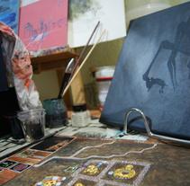 De la pantalla al lienzo: una mirada pictórica a los videojuegos. Un proyecto de Bellas Artes, Multimedia y Pintura de Isi Cano - Lunes, 24 de febrero de 2014 00:00:00 +0100