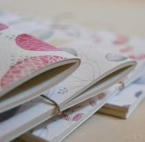 Botanical | libretas. Un proyecto de Ilustración y Diseño editorial de eva carot         - 24.02.2014