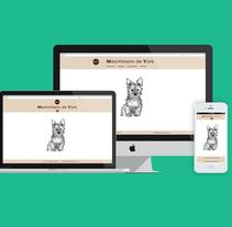 Tienda online de venta de ropa para perros. Maximiliano de York. Un proyecto de Diseño Web y Desarrollo Web de Gustavo Caso - 24-02-2014