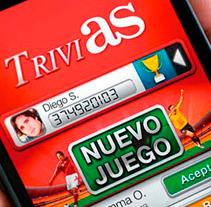 TriviAS. Un proyecto de UI / UX de Fourandgo Mobile  - 25-02-2014