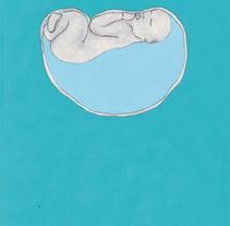 Un parto. Un proyecto de Ilustración de MARIA BEITIA         - 25.02.2014