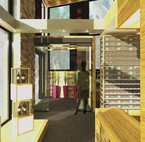 Proyecto final de carrera. Um projeto de Design de interiores de Maria Garcia Garcia         - 27.02.2014