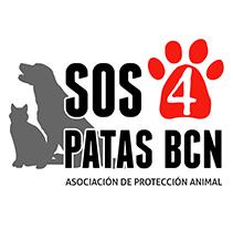Diseño de Logo y Web SOS4PATASBCN. Um projeto de Web design de Laura Muñoz Isidro - 26-02-2014