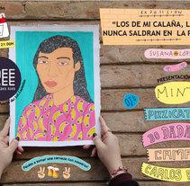Flyer three vintage. Um projeto de Design e Direção de arte de Susana López         - 02.03.2014