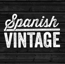 Spanish Vintage. A Fashion, Graphic Design, T, and pograph project by Printing Studio         - 03.03.2014