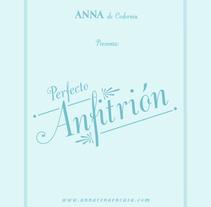 ANNA DE CODORNIU. Un proyecto de Diseño, Dirección de arte y Tipografía de mauro hernández álvarez         - 04.03.2014