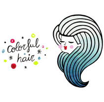 Colorful Hair. A Fashion project by Alejandra Morenilla - 04-03-2014