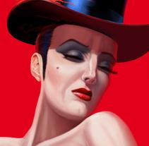 VAUDEVILLE NIGHTS. Un proyecto de Ilustración de jorge fernández toledano - 05-03-2014