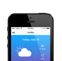 Weather App for iPhone thumbnail