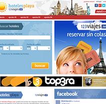123 Viajes. A Web Development project by Alex Peris         - 09.12.2012