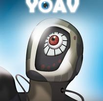 Video libro CD Yoav. Un proyecto de Diseño, Ilustración, Música, Audio, Motion Graphics, Cine, vídeo, televisión, Animación, Diseño de personajes, Bellas Artes, Diseño gráfico y Multimedia de Andres Jarque Vañó         - 23.02.2014