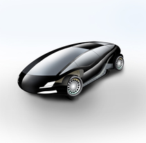 Diseño de automovil. A Illustration, Automotive Design, Graphic Design, and Product Design project by Andres Jarque Vañó         - 09.03.2013