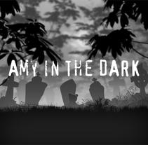 Amy in the Dark - Videojuego. Um projeto de Ilustração, Design de personagens e Design de jogos de Hermes GC         - 16.03.2014