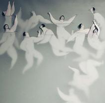 En el agua (Dones d'aigua II). A Illustration, and Fine Art project by Sonia Alins Miguel - 17-03-2014