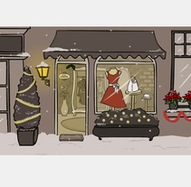 Talentiam Xmas. A Illustration, and Animation project by Cristina Fabregas Escurriola         - 17.03.2014