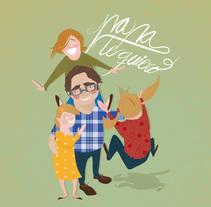 Papá, te quiero.. Um projeto de Ilustração de Elvira Rojas         - 18.03.2014