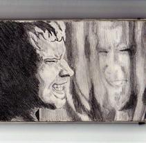 Ilustración a lápiz. A Illustration project by Elvira Soriano Chamorro         - 23.03.2011