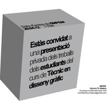 práctica flyer. Um projeto de Design e Design gráfico de miguel angel gallardo labado         - 23.03.2014