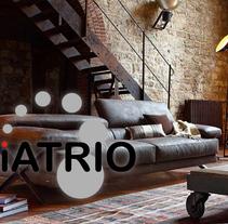 Iatrio - Diseño y maquetación web. Um projeto de Design, Design gráfico e Desenvolvimento Web de mail: contacto@valeparis.com - 31-03-2014