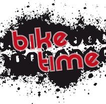 Bike Time. A Graphic Design project by César Jiménez Castelló         - 01.04.2014