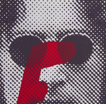 Gráfica sala coworkers. La Térmica.. A Art Direction, Graphic Design, and Screen-printing project by Estudio Santa Rita  - Apr 03 2014 12:00 AM