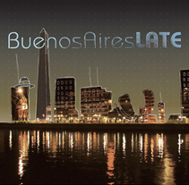 Buenos Aires Late. A Design, Illustration, Br, ing, Identit, Graphic Design, and Packaging project by Julieta Giganti - 31-07-2011