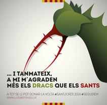 Sant Jordi 2014. A Illustration, and Graphic Design project by lluís bertrans bufí         - 22.04.2014