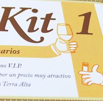 Vintaix: identitat corporativa. Un proyecto de Br, ing e Identidad, Diseño gráfico y Packaging de Hèctor Salvany Peyrí         - 25.04.2012