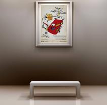 EMT Valencia, ahora tu publicidad es arte.. Um projeto de Ilustração, Publicidade e Direção de arte de Carlos Parra Ruiz - 27-04-2014