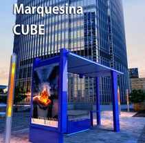 Marquesina Cube. A 3D&Industrial Design project by Carlos Fenoll - 27-04-2014