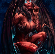 Pecadoras. Un proyecto de Ilustración de Adrián Iglesias - 06-05-2014