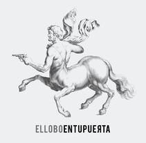 El lobo en tu puerta:propuesta de portada. A Design project by Citizen Vector - 06-05-2014
