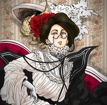 Victorian Girl. Un proyecto de Ilustración de Vanessa Trotta - 08-05-2014