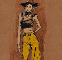 fashion illustration. A Fashion project by Ismael Alabado Rodriguez - May 13 2014 12:00 AM