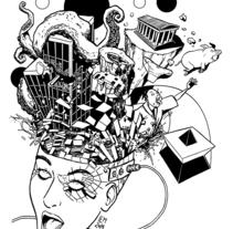 Mixtura nº 4 - Lugares. A Illustration project by Imanol Etxeberria - 16-05-2014