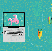 The workspace of Leire Salaberria. A Illustration project by Leire Salaberria - 16-05-2013